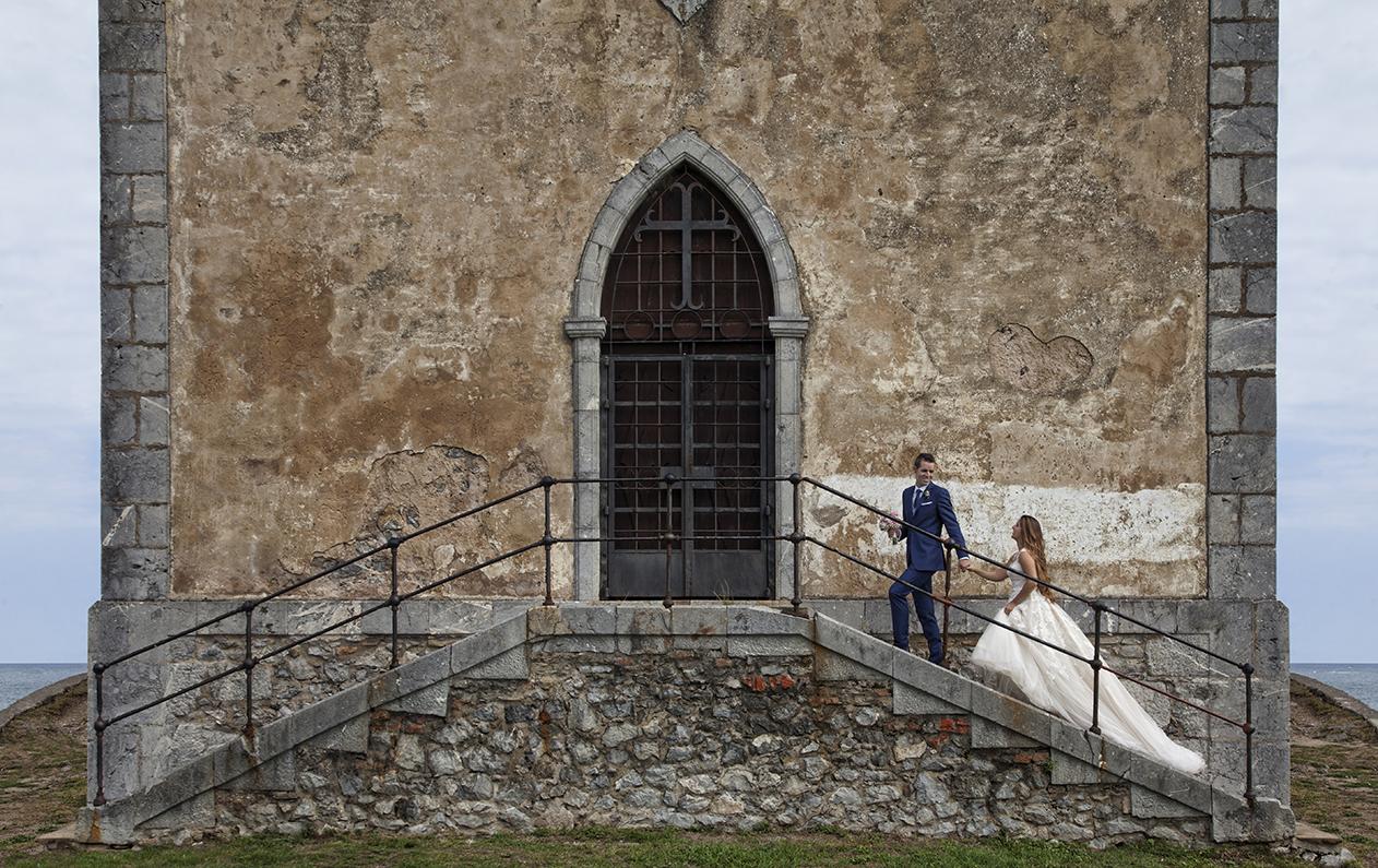 Ladrero Fotografos, reportajes de boda en bilbao,  fotografias de novios bilbao myl10